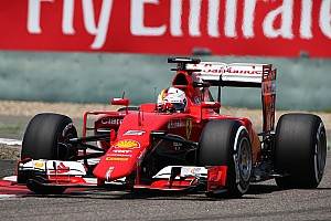 Formula 1 Qualifying report Vettel will start the Chinese GP from the second row in his Ferrari
