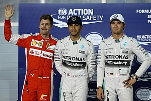 Hamilton beats Vettel to Bahrain GP pole