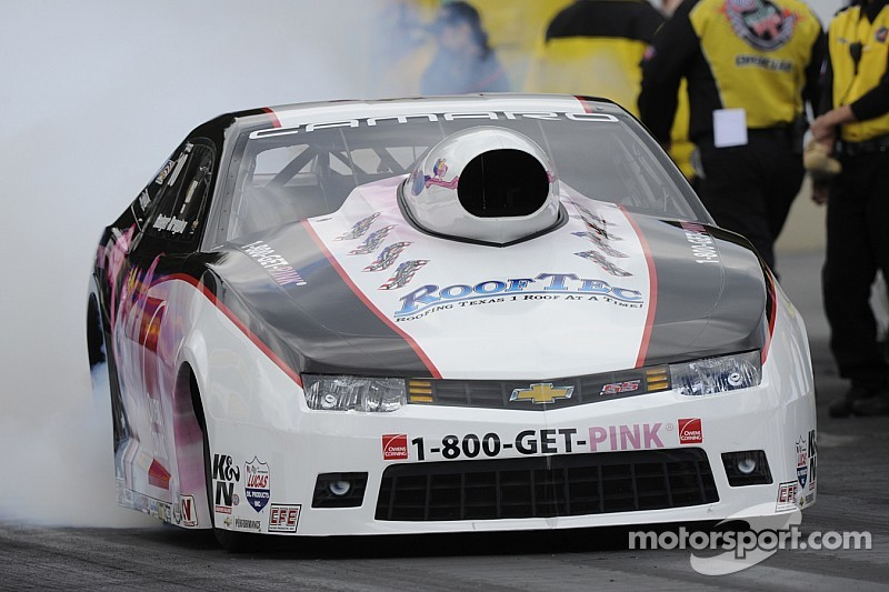 Early Pro Stock victory has Houston's Rodger Brogdon eyeing another Wally Trophy