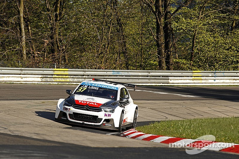 Lopez dominates WTCC test at the Nordschleife