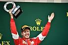 Vettel aplaude al hijo de Schumacher