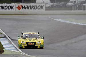 DTM Qualifying report Rockenfeller scores last-gasp Race 2 pole at Hockenheim