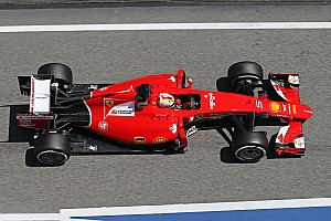 Formula 1 Practice report Vettel second and Raikkonen fourth in the second free practice session for the Spanish GP