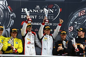 Blancpain Sprint Race report Emotional win for Laurens Vanthoor and Robin Frijns
