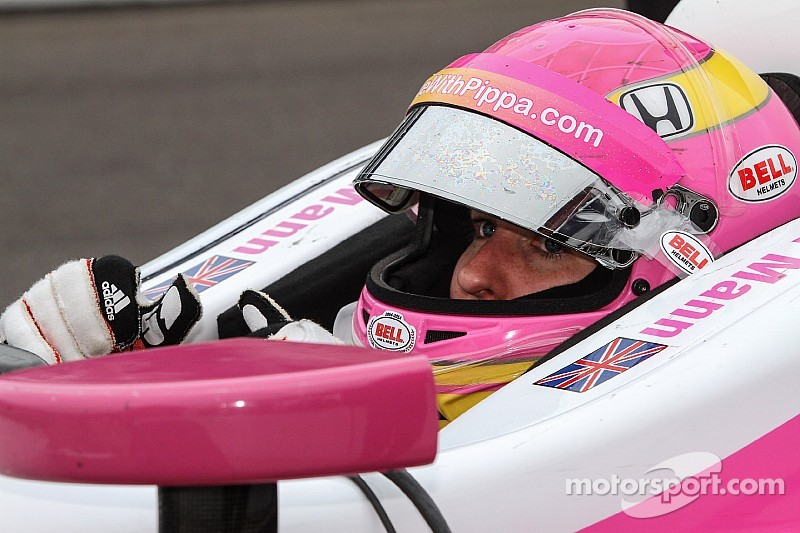 Pippa Mann sueña con brillar en las 500 de Indy