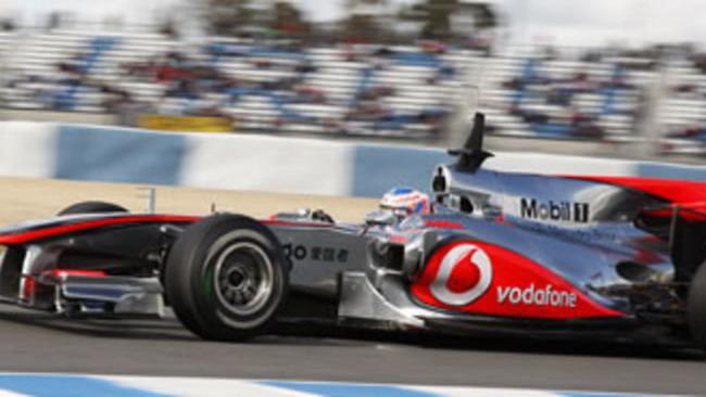 F1: Button brilla nell'ultimo giorno di test a Jerez