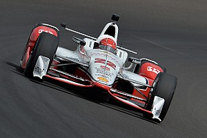IndyCar Practice report Simon Pagenaud sets new fastest lap of the month at Indy