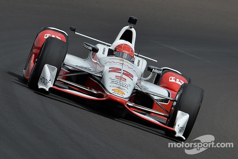 Simon Pagenaud sets new fastest lap of the month at Indy