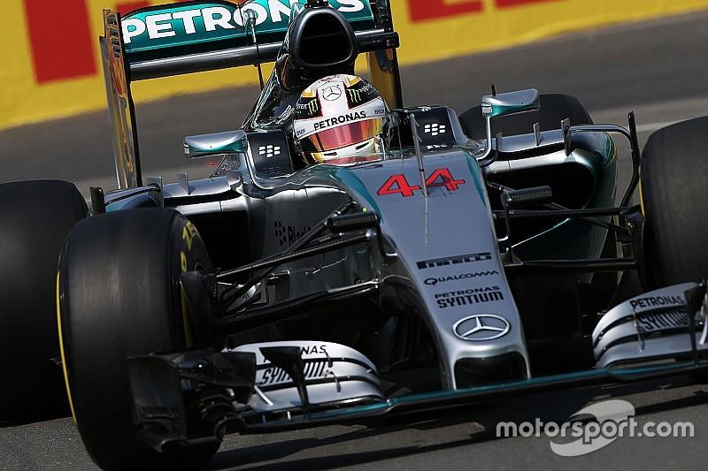 Canadian GP: Hamilton tops FP2, then crashes