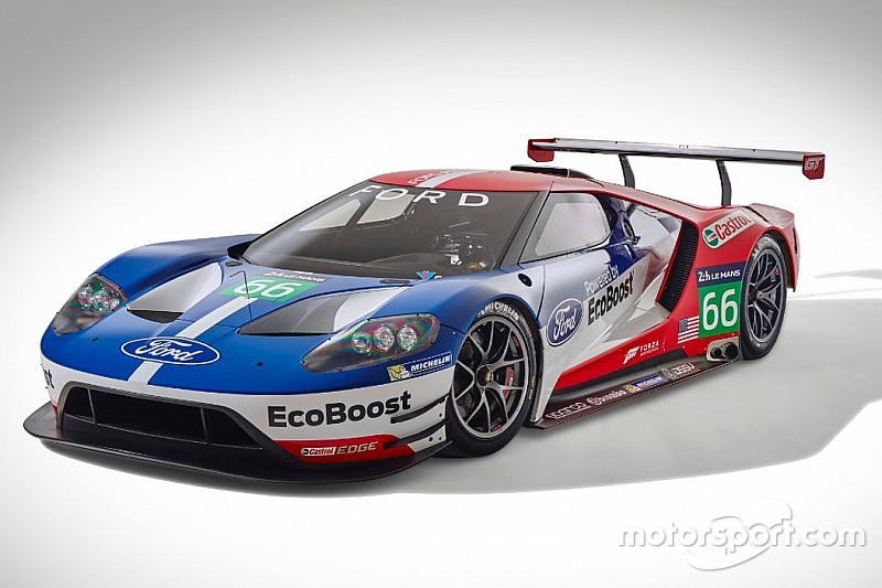 Team Will Field Two Ford GTs In Full IMSA TUDOR United SportsCar  Championship In 2016.
