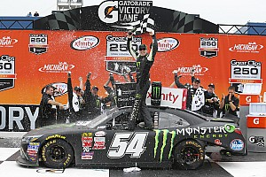 He's back: Kyle Busch returns to the NXS and to Victory Lane