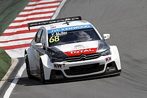 WTCC Qualifying report Muller beats Lopez to pole in Slovakia