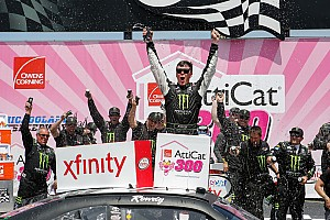 Jones completes weekend sweep with Xfinity win