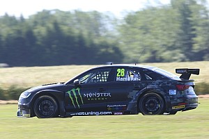 "BTCC Breaking news Hamilton ""really happy"" with debut BTCC weekend at Croft"