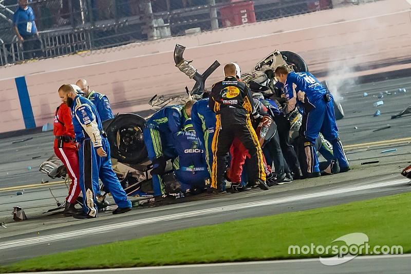 NASCAR citará a integrantes de equipo que ayudaron a Dillon