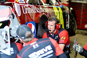 NASCAR Sprint Cup Qualifying report Bowyer and Gordon collide ... In the garage