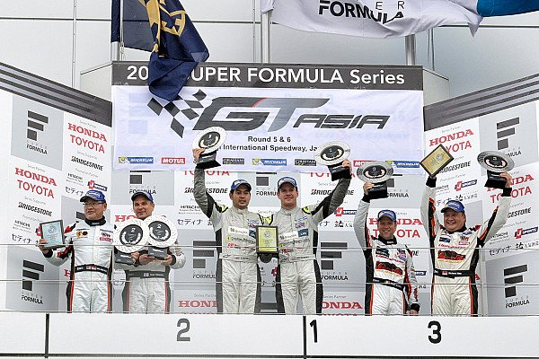 TP12 Racing take maiden GT Asia Series victory in Fuji