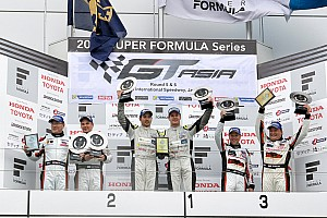 GT Race report TP12 Racing take maiden GT Asia Series victory in Fuji