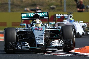 Hungarian GP: Hamilton quickest as Perez rolls