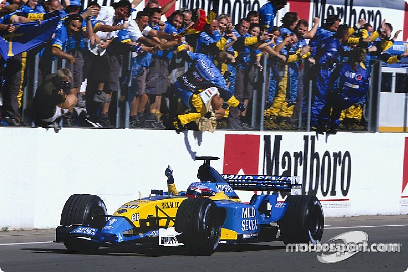 Alonso recuerda su primer triunfo en F1 logrado en Hungría