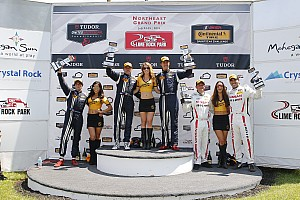 IMSA Others Reporte de la carrera Maxwell y Johnson triunfan en Lime Rock