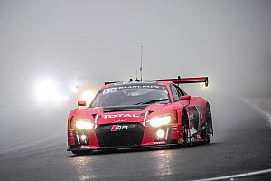 Blancpain Endurance Race report Spa 24: Audi on top after rain-affected opening hours