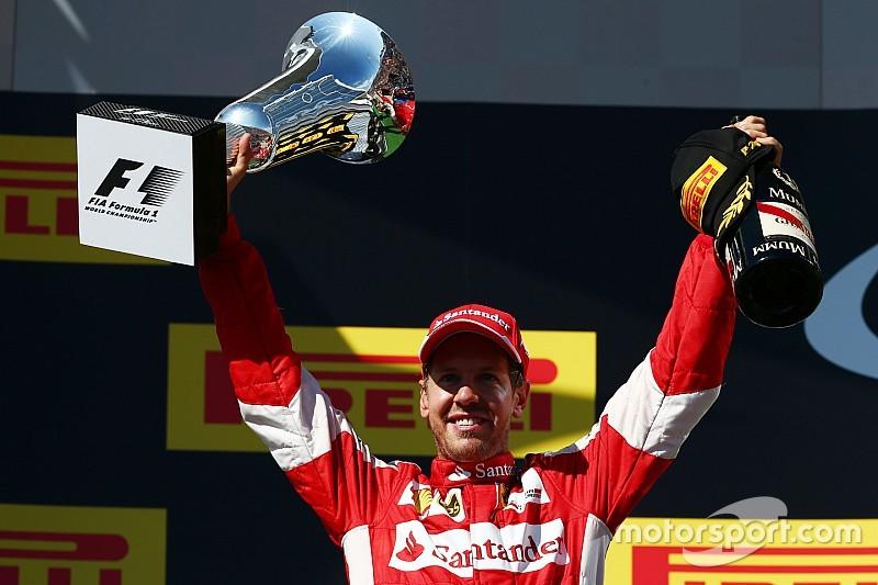 Hungarian GP: Vettel wins wild race, Mercedes hit trouble