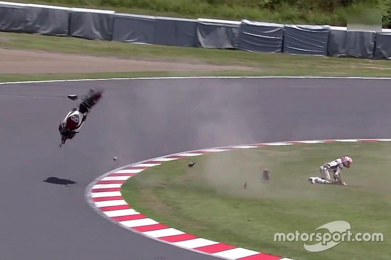 Honda acepta que el acelerador causó el accidente de Stoner