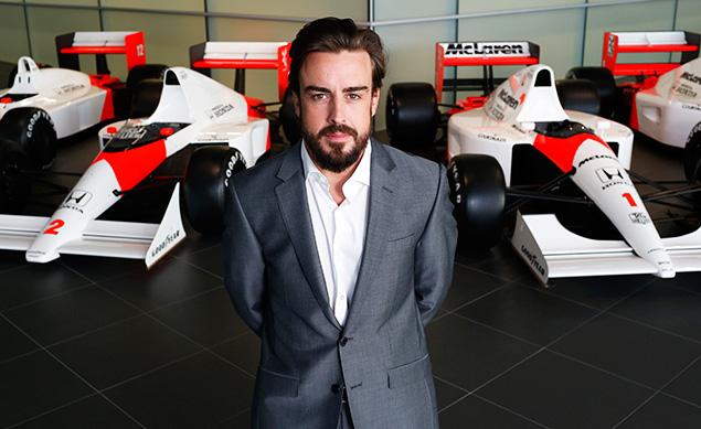 ألونسو أوّل من سيقود سيارة مكلارن في تجارب خيريز
