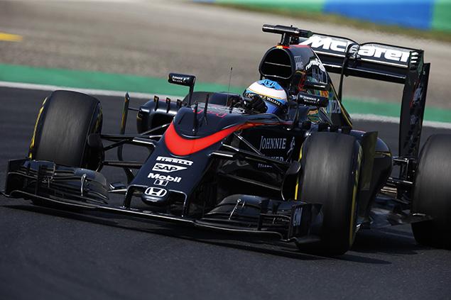ألونسو يعترف بأنه لم يتوقّع تحقيق المركز الخامس في سباق المجر