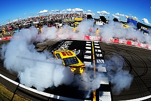 NASCAR Sprint Cup Race report Clean sweep: Joey Logano pulls off the double at The Glen