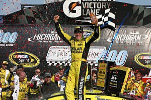 NASCAR Sprint Cup Race report Matt Kenseth conquers Michigan