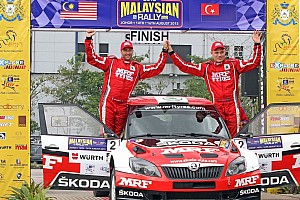 Other rally Breaking news Team MRF dominates APRC Malaysia round