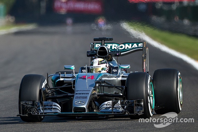 Hamilton vuela en la práctica final de Spa