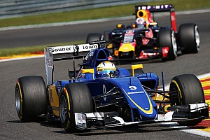 One point for Sauber at the Belgian Grand Prix