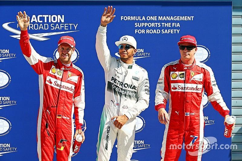 Pole position de Lewis Hamilton