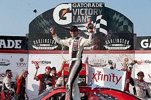 NASCAR XFINITY Race report Hamlin holds on for fourth Xfinity win at Darlington