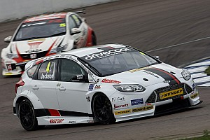 BTCC Race report Jackson scores win for Motorbase, Plato hits trouble