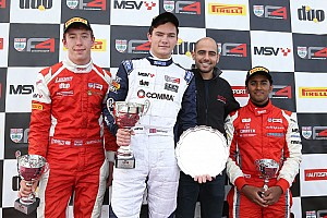 Other open wheel Breaking news Vaidyanathan's double podium; Rabindra scores points