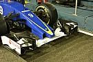 فريق ساوبر يكشف عن أنف قصير لسيارته في سباق سنغافورة