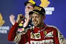 Singapore GP: Vettel scores third Ferrari win, fan invades track
