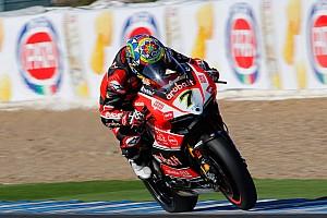World Superbike Race report Davies returns to winning ways in Race 2 at Jerez