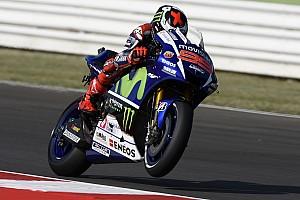 MotoGP Practice report Aragon MotoGP: Dominant Lorenzo beats Rossi by 0.7s in second practice