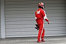 Räikkönen se siente decepcionado por el resultado