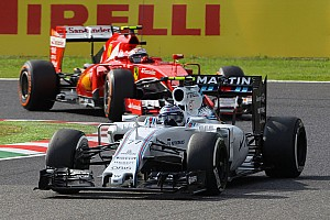 Formula 1 Race report A tough race for the Williams team at Suzuka