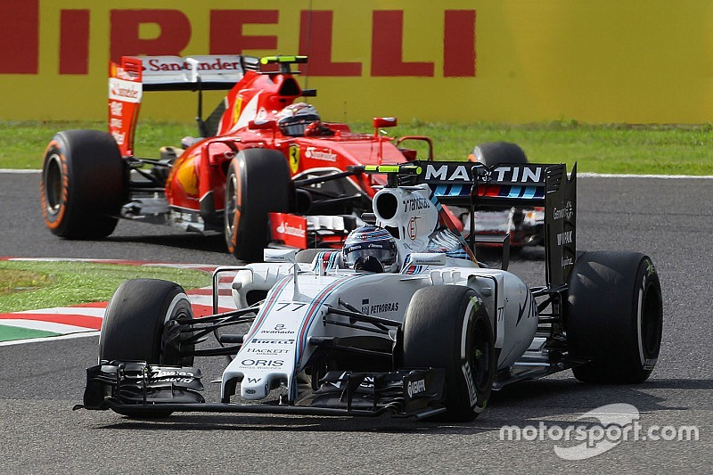 A tough race for the Williams team at Suzuka