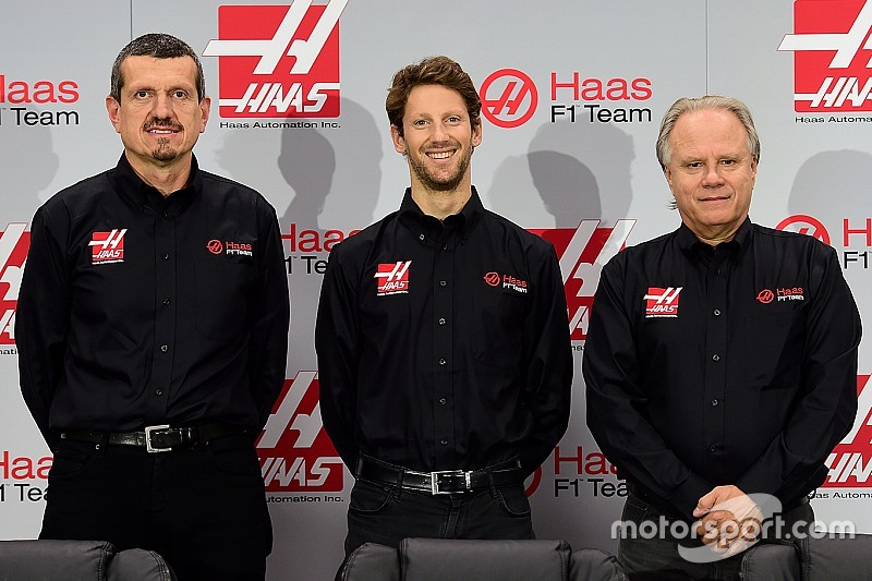 Grosjean becomes first Haas F1 driver