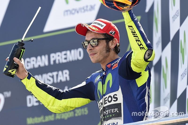 Rossi llega con un buen presentimiento a Motegi