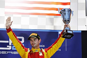 GP2 Race report Alexander Rossi and Racing Engineering win a shortened Feature Race at Sochi today