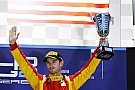 Alexander Rossi and Racing Engineering win a shortened Feature Race at Sochi today